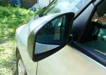 Зеркало левое электр. Renault Espace IV 2002-2014
