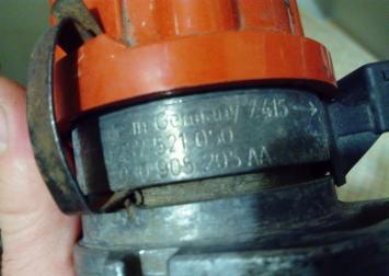 Распределитель зажигания VW Golf III Seat 1.6/1.4 0237521050