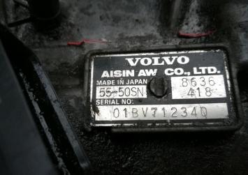 АКПП Volvo S80 2.4 L. 2006 г. рестайлинг 01BV712340
