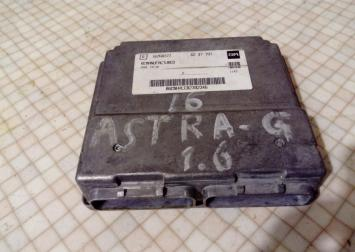 Блок управления двигателем для Opel Astra G 1.6L 16268377
