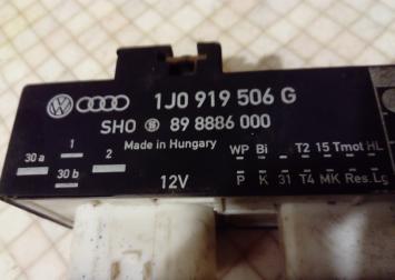 Блок управл. вентилятором VW Audi 1J0919506G 1J0919506G