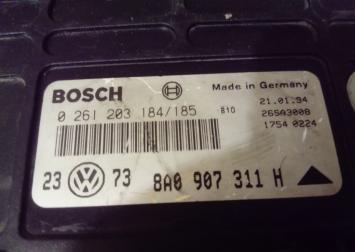 Блок упр. двигателя 8A0907311H VW Golf III ABS 8A0907311H
