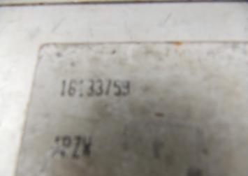 Блок управления двигателем Opel Vectra A 1.6 L L.16133759