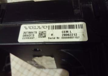 Блок предохранителей Volvo S 60:S80: XC90 30786475