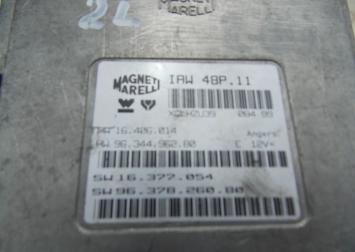 Блок управления двигателем Peugeot 406 2L 99-04г 2L1999-2004