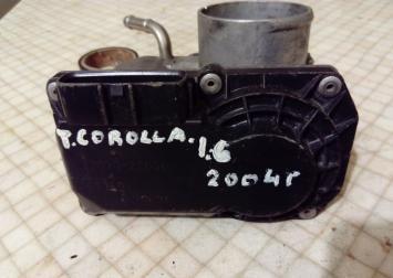 Заслонка дроссельная электр.Tayota Corolla E12 22030-22050