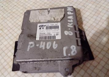 Блок управления двигателем Peugeot 406 :9640302380 9640302380