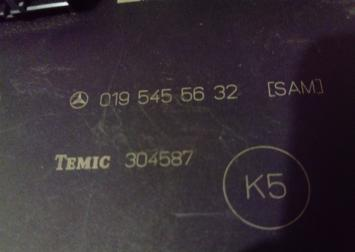 Блок электронный Mercedes Benz W210, W202