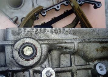 Блок двигателя Ford Mondeo III 2000-2007 2.5 L RF-F53E-6015-MA
