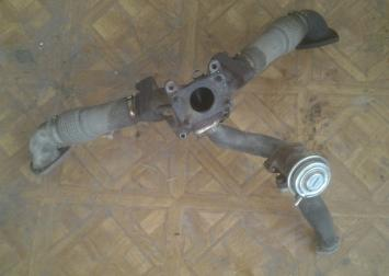 Коллектор, клапан Ауди TDI 2.5