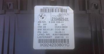 Приборная панель BMW X1 E84