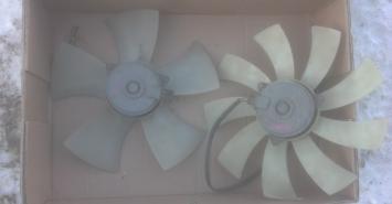 Вентилятор охлаждения Mitsubishi Galant 9