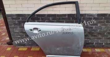 Тойота авенсис Toyota avensis дверь задняя правая