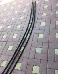 Молдинг крыши Хонда Цивик 4Д 4 Д левый