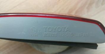 Тойота Королла 150 фонарь левый в крышку багажника