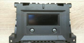 Опель Астра H дисплей информационный Opel Astra h