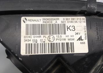 Фара левая Renault Kaptur