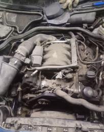 Двигатель мотор двс W210 3.2L 112 112941
