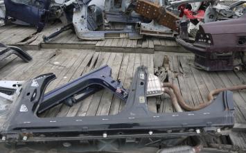 Порог со стойкой левый Honda Accord 12490572