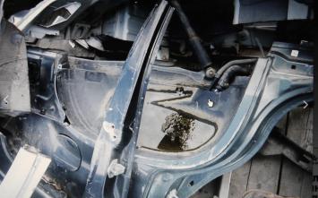 Крышка багажника крыло боковина Acura