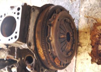 Блок двигателя коленвал Маховик пассат b3