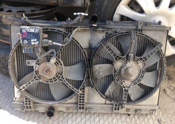 Диффузор Радиатора с вентиляторами Mitsubishi Lanc
