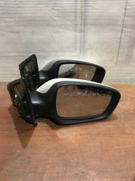 Зеркало правое Hyundai Solaris 876204L030