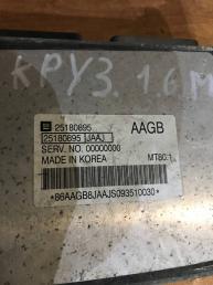 Блок управления двигателем Chevrolet Cruze 25180895
