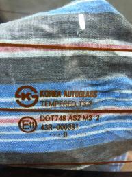 Стекло заднее Hyundai Solaris 43R-000381