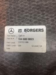 Шумоизоляция пола Mercedes X164 GL   А1646800823 А1646800823