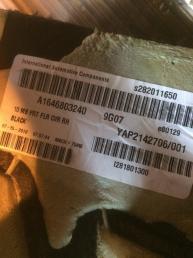 Коврик пола Mercedes X164 GL   А1646803240 А1646803240