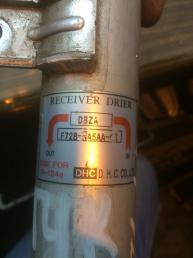 Осушитель (ресивер) кондиционера Hyundai Tucson 978012Е000