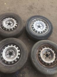 Диск колесный штампованный Mercedes W639 Viano  А6394011302 А6394011302