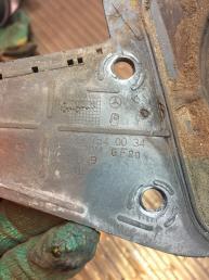 Защита горловины бензобака Mercedes W639 Vito Viano A6397540034
