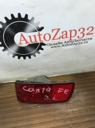 Фара противотуманная задняя левая Hyundai Santa Fe Classic