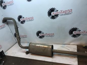Средняя часть глушителя (резонатор). Hyundai Getz 2002-2010