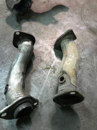 Приемная труба глушителя Mazda CX 7 L3D740500A