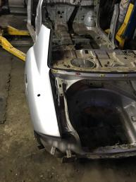 Крыло заднее левое Hyundai Sonata 5
