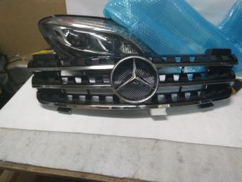 Мерседес W164 Black решетка радиатора черная