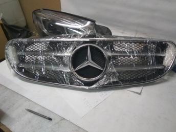 решетка радиатора  Mercedes W 212 рест Rest