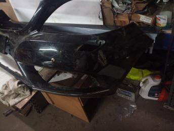 Бампер передний цвет темный Mercedes W246 B 2011