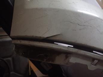 Штатный бампер Mercedes W166 ML/GLE 2012