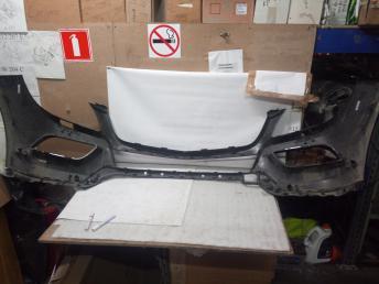 Mercedes W 166 ML штатный бампер Black