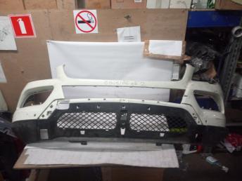 Штатный бампер передний светлый Mercedes W166 ML/GLE 2012