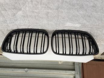 Бмв 2 ф22  BMW F22  решетка радиатора черная