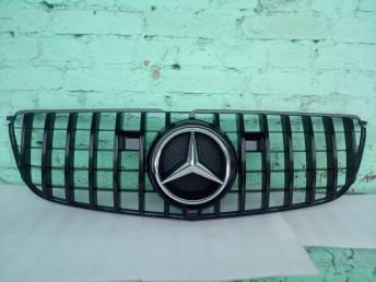 Решетка радиатора Mercedes W 166 GLS GT чер