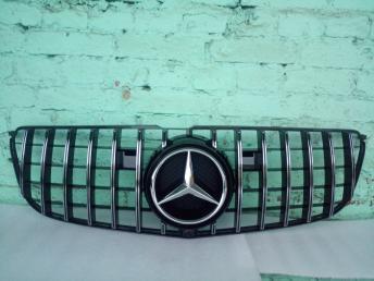 Решетка радиатора Mercedes W166 ML/GLE 2012
