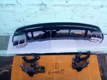 Диффузор бампера заднего Мерседес CLA 117 45 AMG