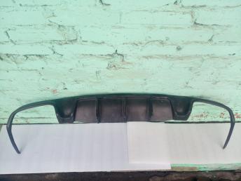Диффузор бампера заднего губа Mercedes W207 E 2010