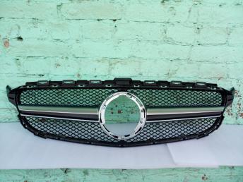 Решетка радиатора Mercedes W205 C 2019 6,3 хром